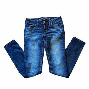 EUC AMERICAN EAGLE Jegging Skinny Jeans Size 4